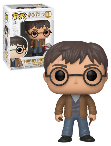 Harry Potter with 2 wands Special Edition Funko Pop! Vinyl Figure ||  Гарри Поттер с двумя палочками