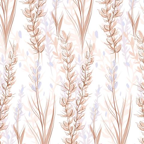 Нежные травы степей