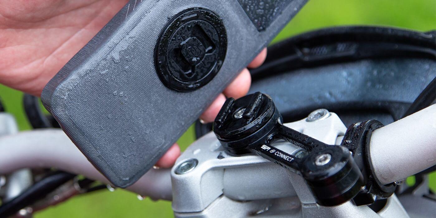 Набор креплений SP Moto Bundle UNIVERSAL CASE (c чехлом)