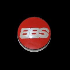 Крышка центрального отверстия BBS Nurburgring Edition 56.0 мм silver/red