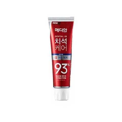 Зубная паста для эффективного и бережного удаления зубного камня Median Max Toothpaste (красная)