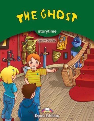 The Ghost Книга для чтения комплект с аудиодиском