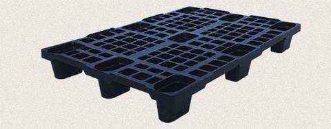 Поддон пластиковый перфорированный 1200x800x150 мм. Цвет: Чёрный