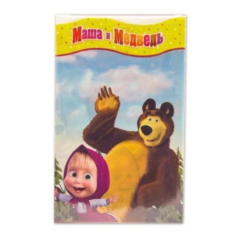 Скатерть Маша и Медведь 130х180см