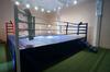 Ринг боксерский на помосте, разборный, помост 7х7м, высота 1м, боевая зона 6х6м.