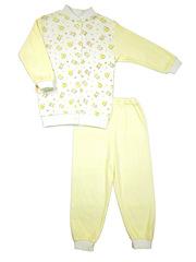 Пижама для ребенка с606и Желтый кот