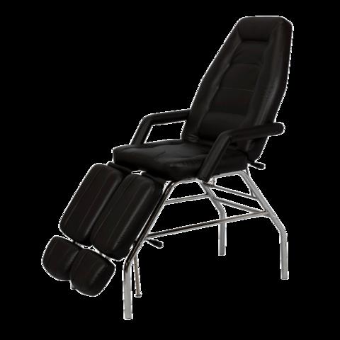 Педикюрное кресло СП Стандарт хромированный каркас