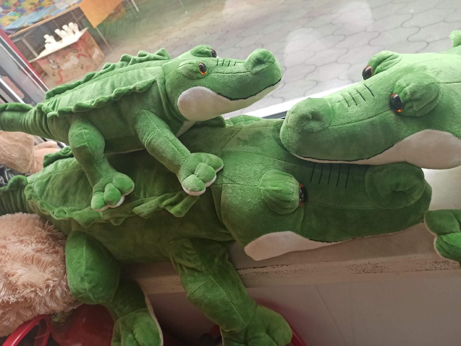 Крокодил зеленый 60 см