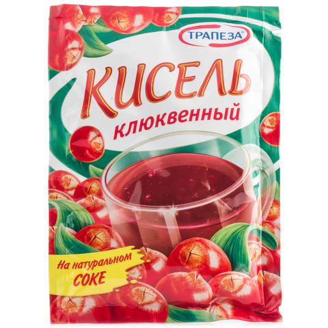 Кисель Клюква Трапеза 100г