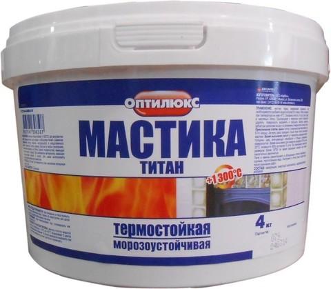 Мастика титан Оптилюкс 4кг ведро