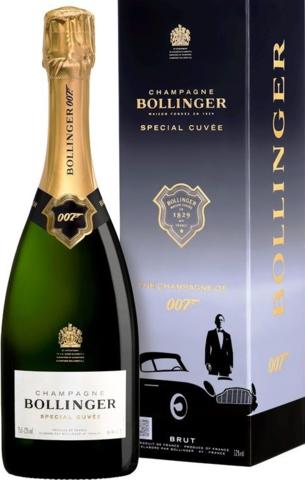 Bollinger Special Cuvee Brut 007 в подарочной упаковке