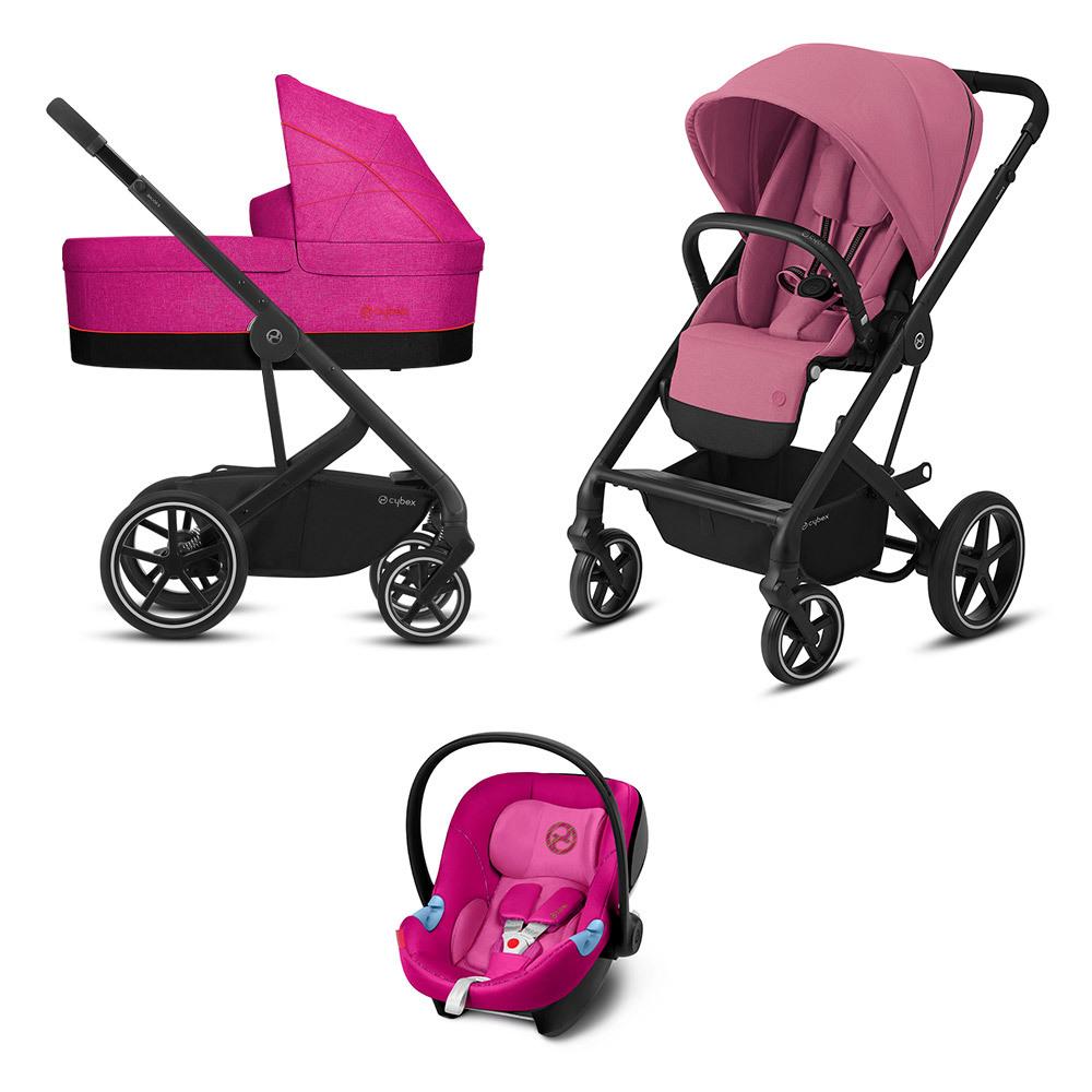 Cybex Balios S 3 в 1 Детская коляска Cybex Balios S Lux 3 в 1 Magnolia Pink BaliosSLux__S_BLK-3in1-pink.jpg