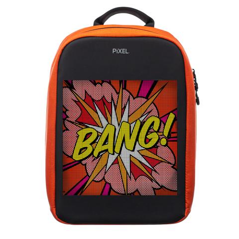 Рюкзак с LED-дисплеем PIXEL MAX - ORANGE (оранжевый)