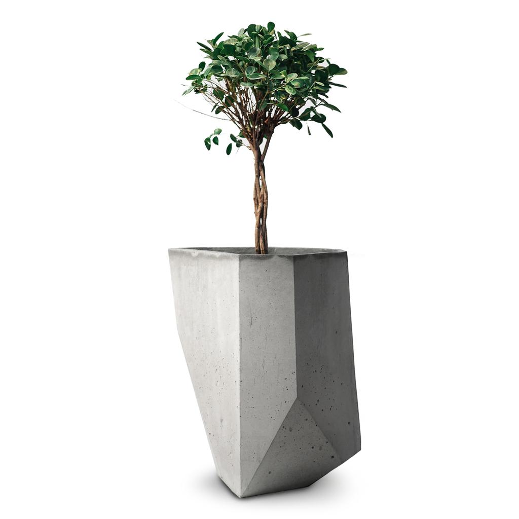 Вазон из бетона ICEBERG 5 - вид 1