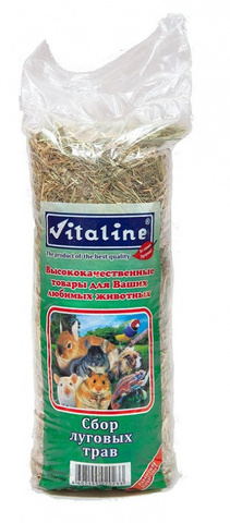 Vitaline сено сбор луговых трав разнотравье 14,7л 400г