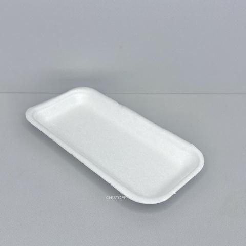 Підкладка з спіненого полістиролу 175х85х20 мм (500 шт.) Біла (TR-030)