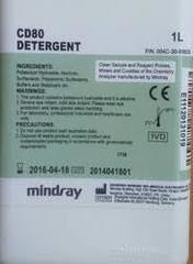 Детергент CD-80 (Detergent CD-80), 1 л для биохимических анализаторов BS-200E (240Pro,380,480,600,800-800M) Shenzhen Mindray Bio-Medical Electronics Co., Ltd., Китай
