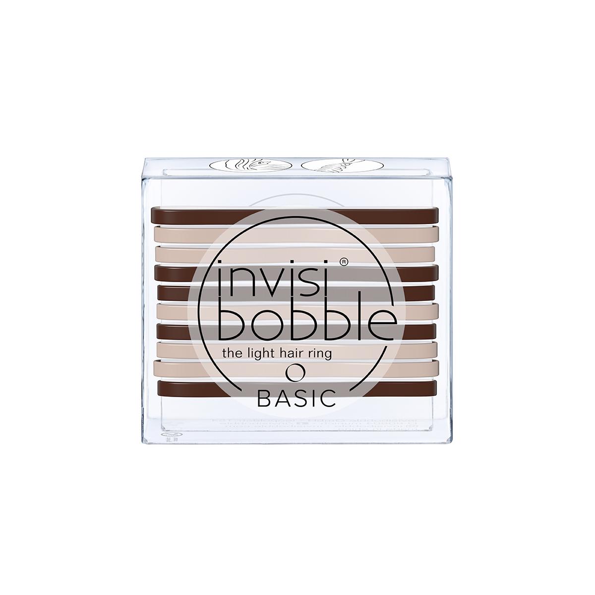 Резинки для волос invisibobble BASIC Mocca&Cream