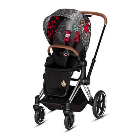 Прогулочная коляска Cybex Priam III FE Rebellious шасси Chrome