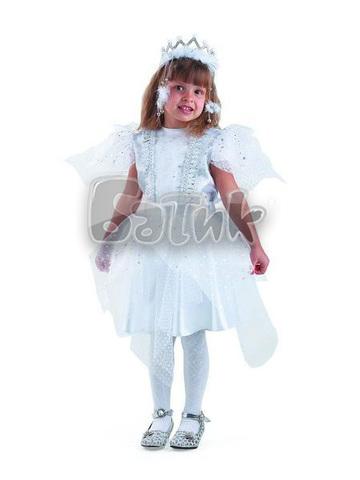 Карнавальный костюм детский  Снежинка Серебряная