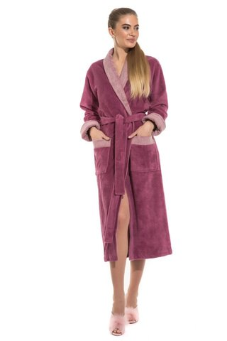 Бамбуковый женский халат Belette 735 лиловый PECHE MONNAIE Россия