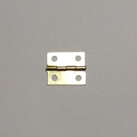 Петля для шкатулки №034, 18х15, золото