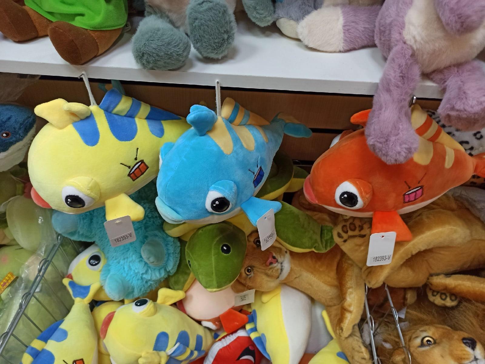 Рыбки 3 шт 25 см