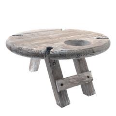 Столик винный складной сервировочный, серый, фото 1