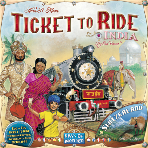 Ticket to Ride: India Expansion Map Collection 2