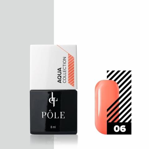 Краска POLE для акварельной техники Aqua Collection №06 морковная (8 мл)