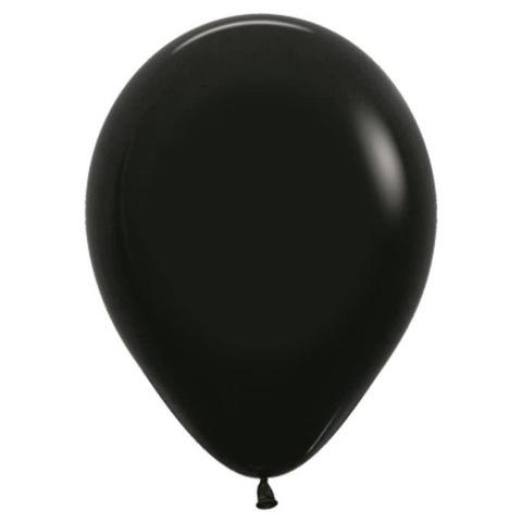 Шар Черный, 30 см