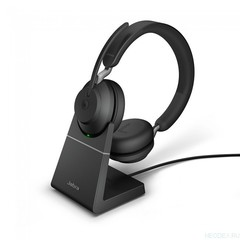 Jabra Evolve2 65 Stereo MS USB-C беспроводная гарнитура черная с док-станцией ( 26599-999-889 )