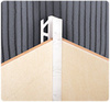 Уголок для плитки 8мм внутренний однотонный