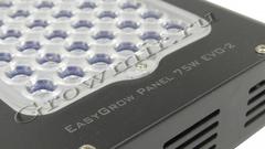 EasyGrow Panel 75W Evo-2 Plus, мультиспектр, Easy Grow, 75W, Evo-2 , Plus, мощные светодиоды, высокая светоотдачей, led светильник, для освещения растений, growmir.ru, growmir, гроумир, гровмир, интернет магазин, Интернет магазин оборудования для гроубоксов, выращивание растений дома, домашнее растениеводство,