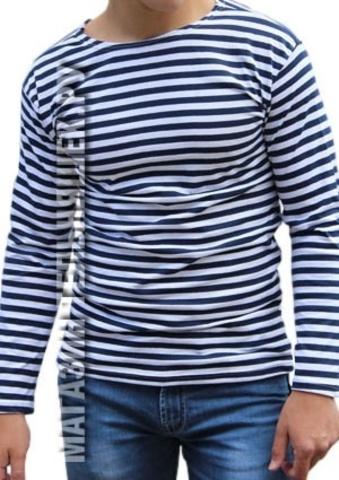 Купить тельняшку недорого - Магазин тельняшек.руТельняшка ВМФ облегченная (темно-синяя полоса) в Магазине тельняшек