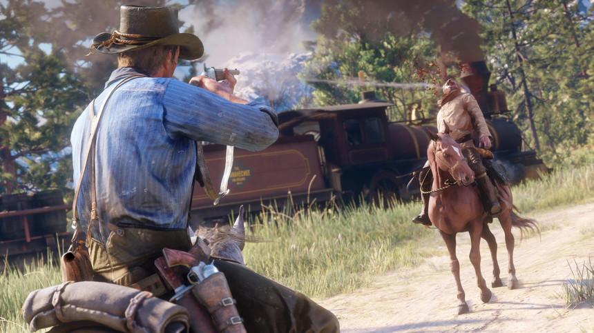 Игра Red Dead Redemption 2 [PS4, русские субтитры]