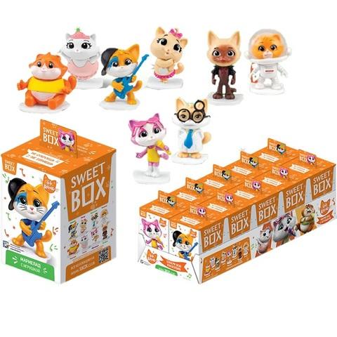 СВИТБОКС 44 CATS Мармелад с игрушкой в коробочке 1кор*12бл*10шт, 10г.