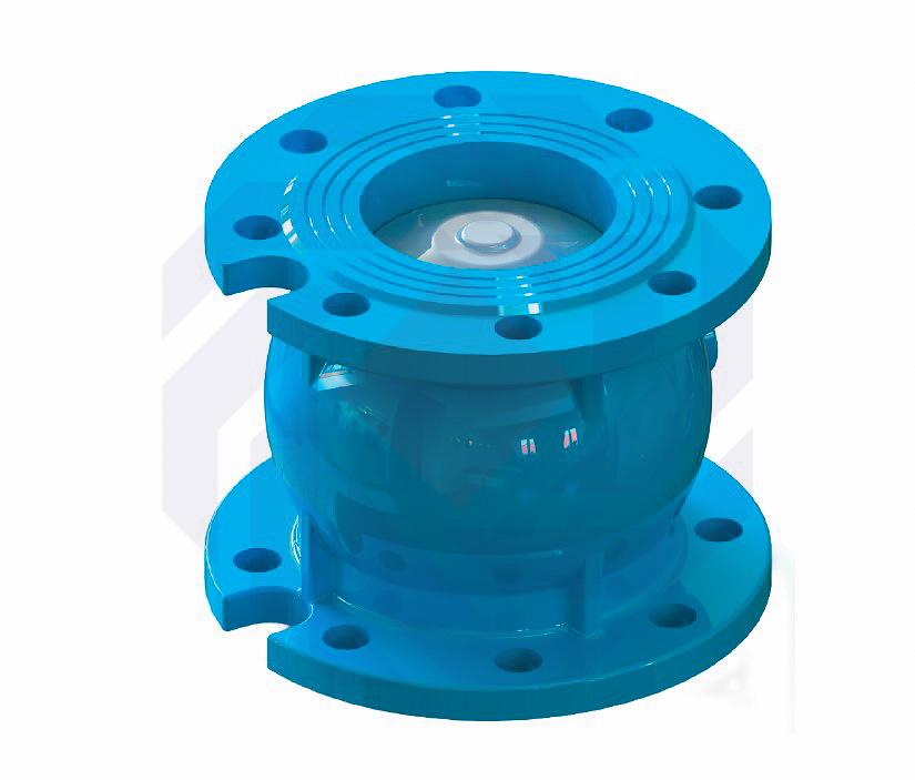 Клапан обратный дисковый T.i.S. C086 DN 65
