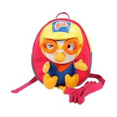 Портфель CHARACTER WORLD Pororo Safety Harness Backpack Bag #Pink