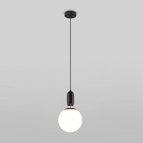 Подвесной светильник со стеклянным плафоном 50197/1 черный