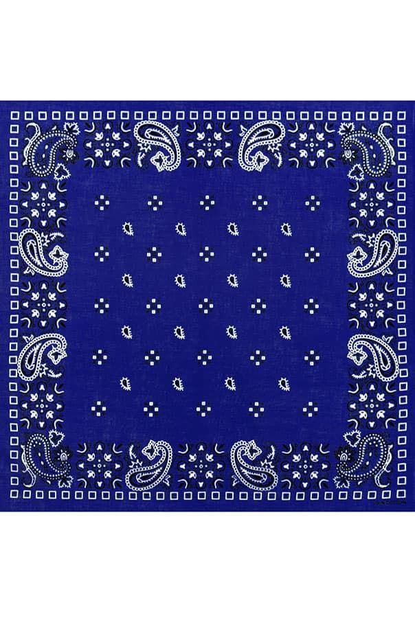 Бандана Рикардо Милоса синяя фото