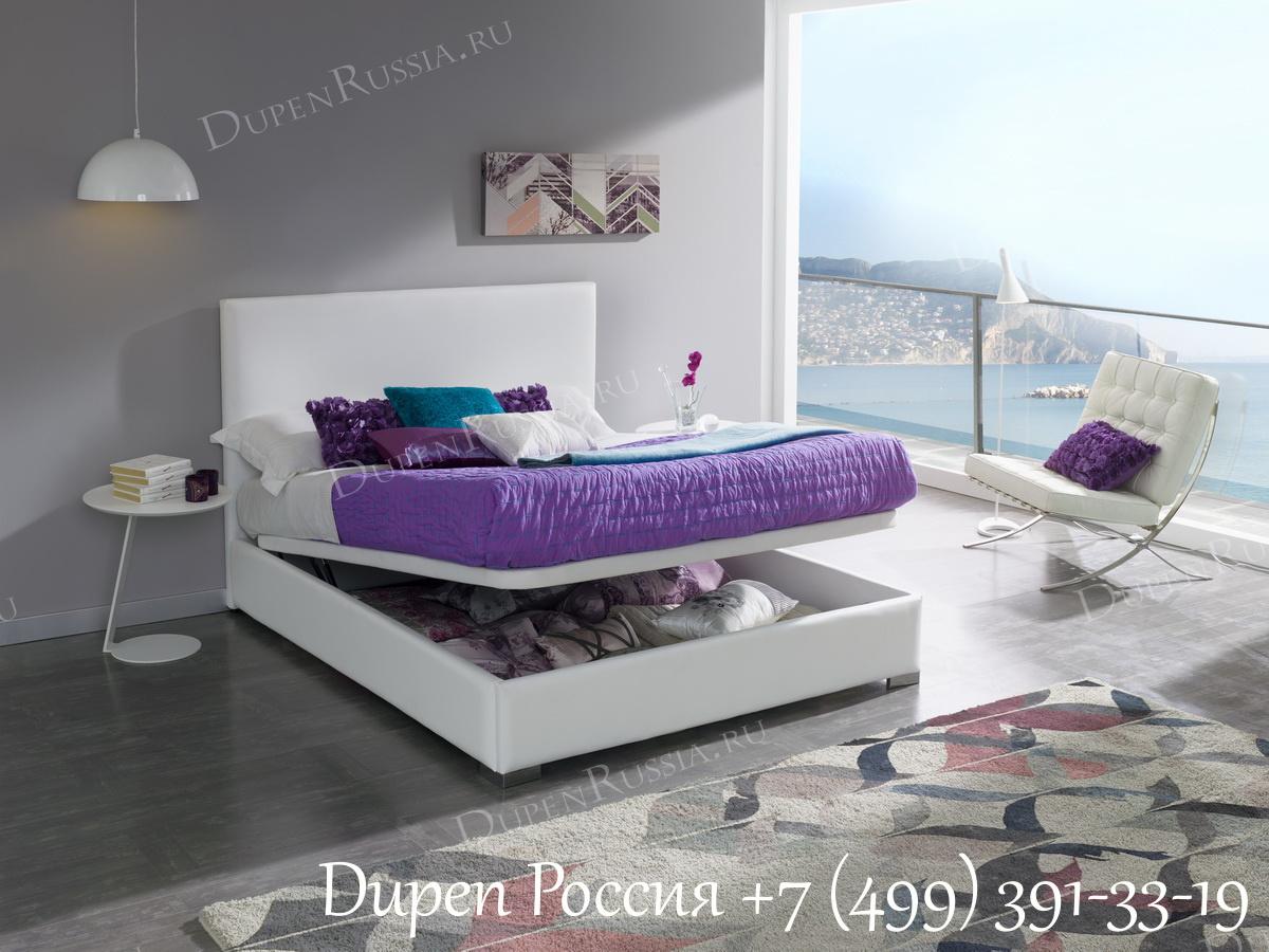 Торшер LF3538, Кровать Dupen 703 PICCOLO и Тумба прикроватная DUPEN М-129 Белая