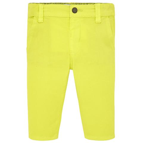 Брюки Mayoral желтые для мальчиков