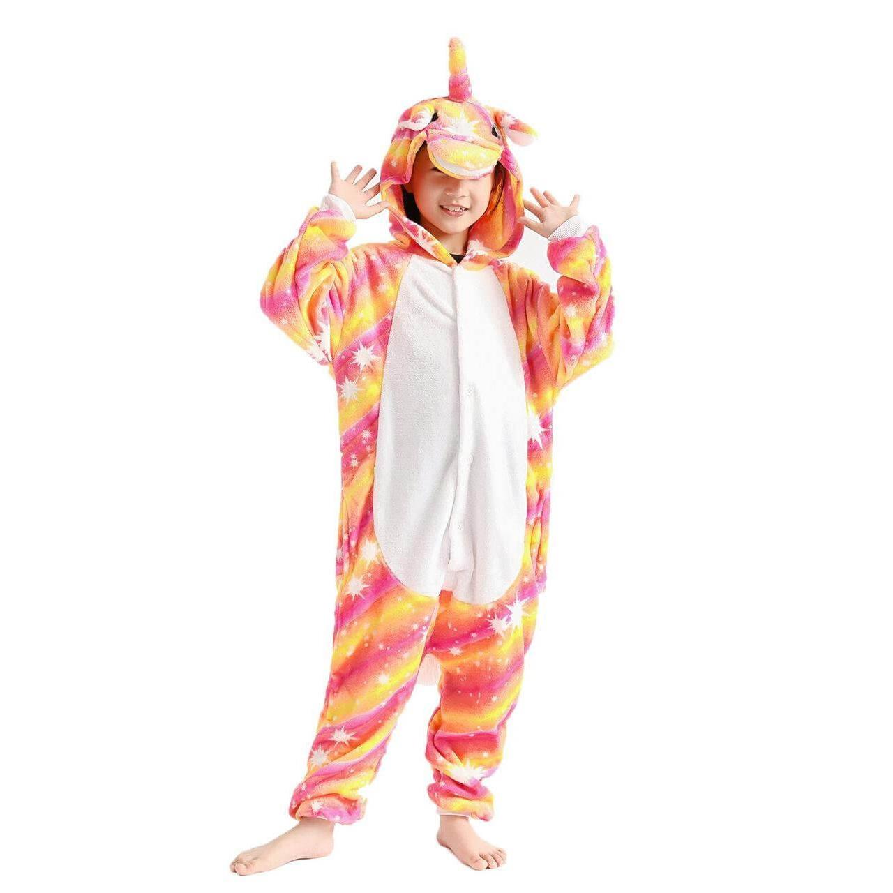 Пижамы для детей Единорог Оранжевая ночь детский 671281423_w640_h640_kigurumi-edinorog-ognennyj.jpg