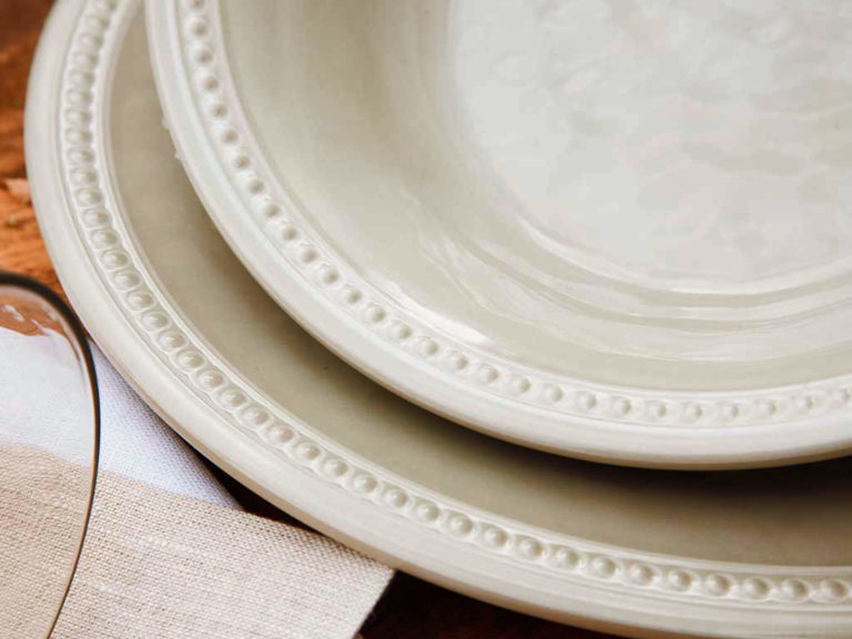 MELAMINE DINNER PLATE, HARMONY SAND