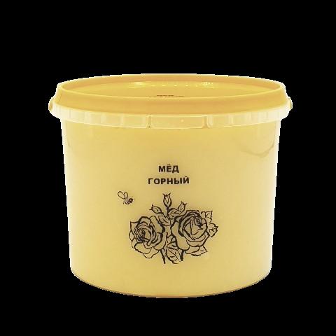 Мёд натуральный ГОРНЫЙ, 1 кг