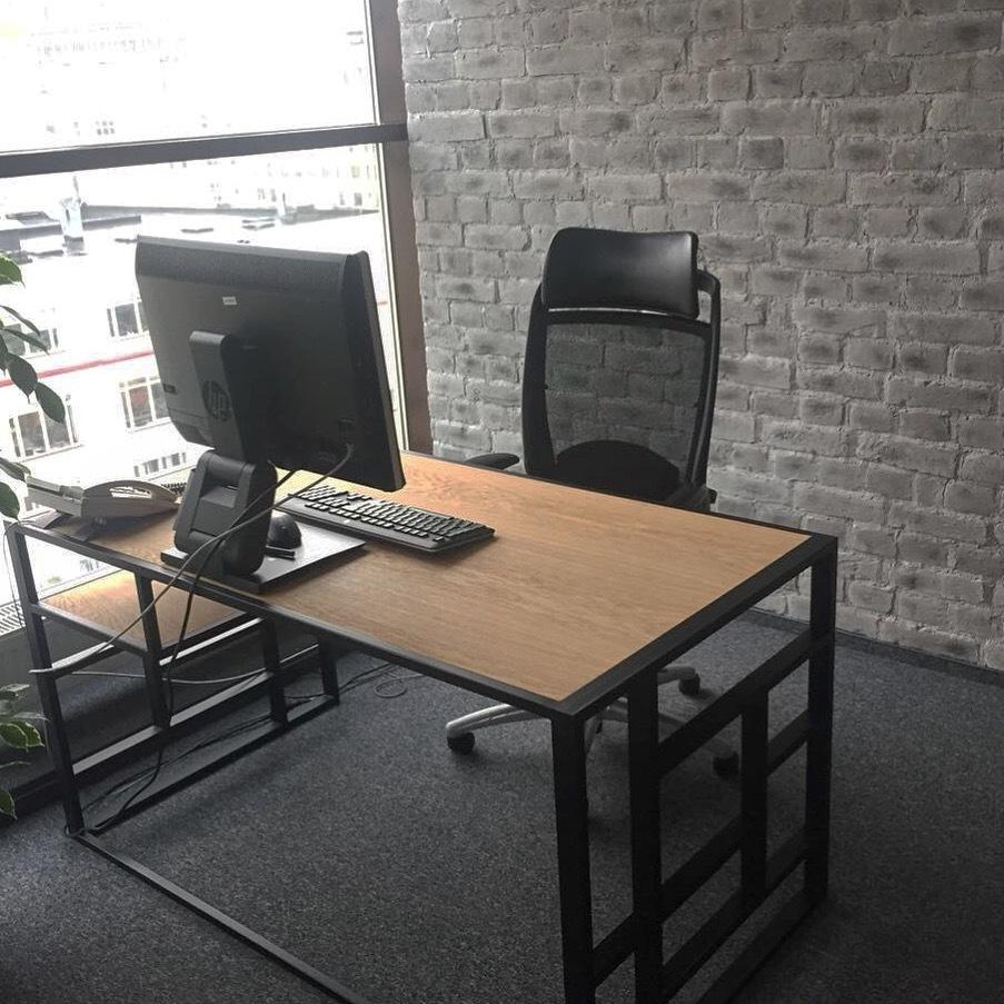 Рабочий стол Millenium lite black - вид 2