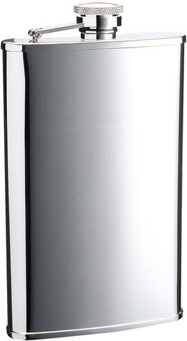 Итальянская фляга S.Quire «Silver», 270 мл