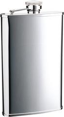 Итальянская фляга S.Quire «Silver», 270 мл, фото 1