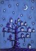 Новая Луна На Районе (светящийся принт)